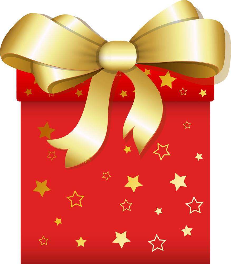 Gift - Christmas Vector Illustration