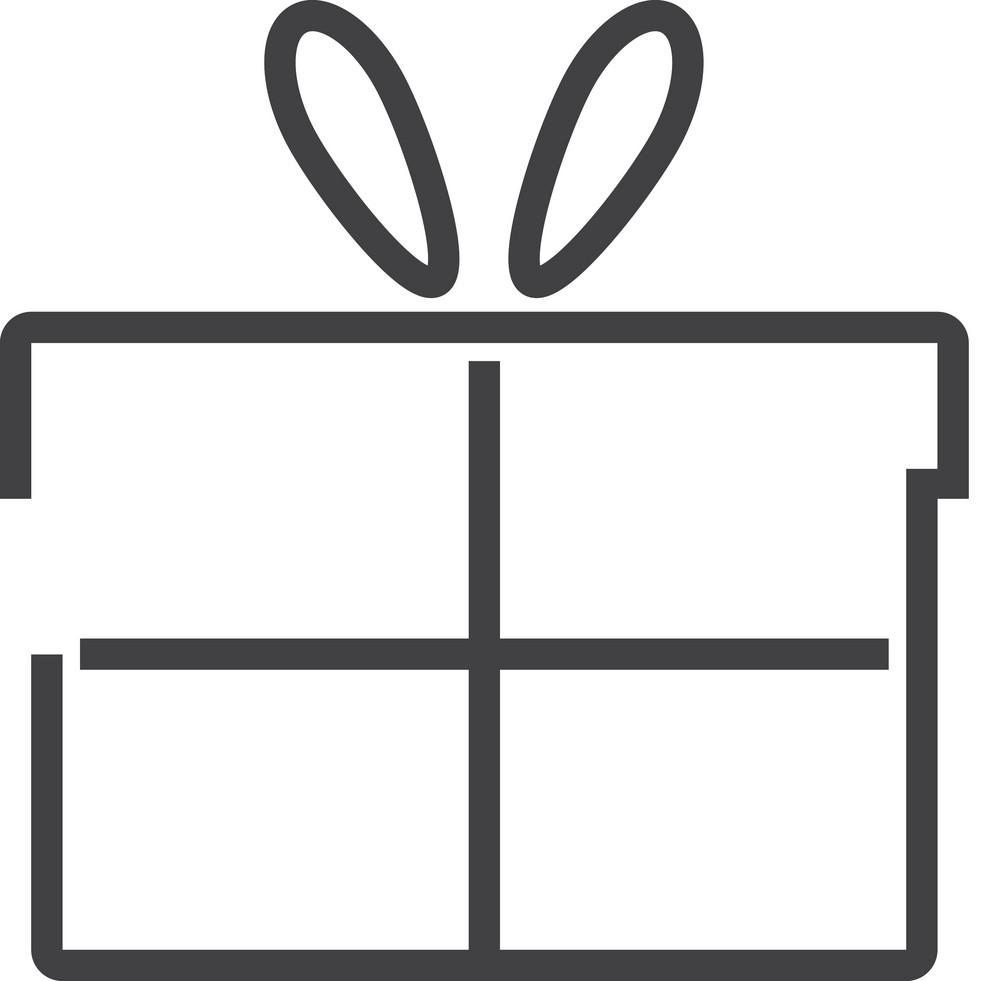 Gift Minimal Icon