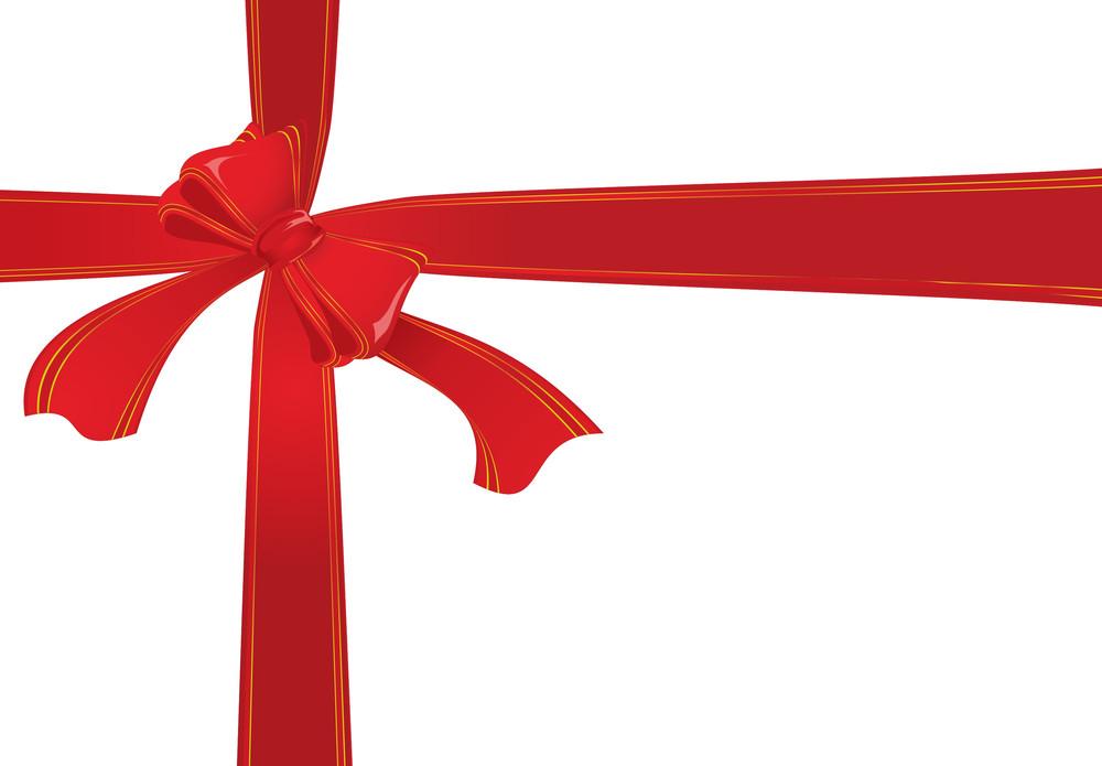 Gift Ribbon. Vector Illustration