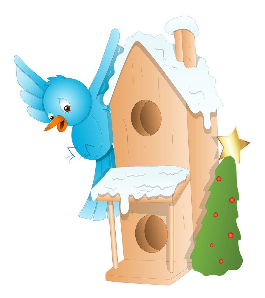 Gingerbread House - Christmas Vector Illustration