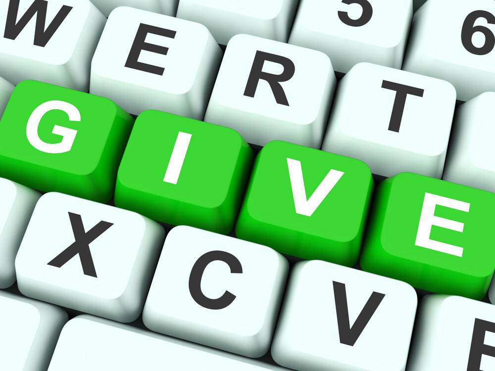 Give Keys Show Bestowed Or Deliver
