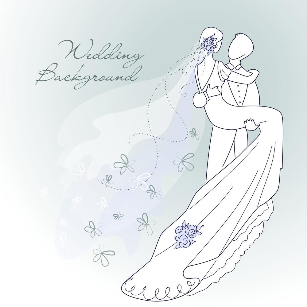 Glamorous Wedding Background