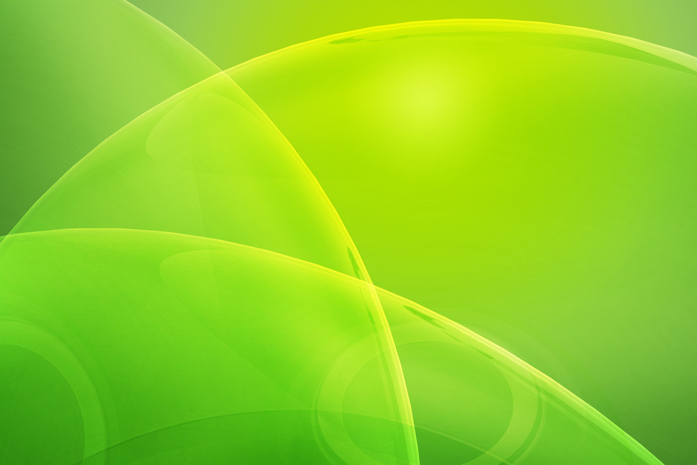 Glass Green Background