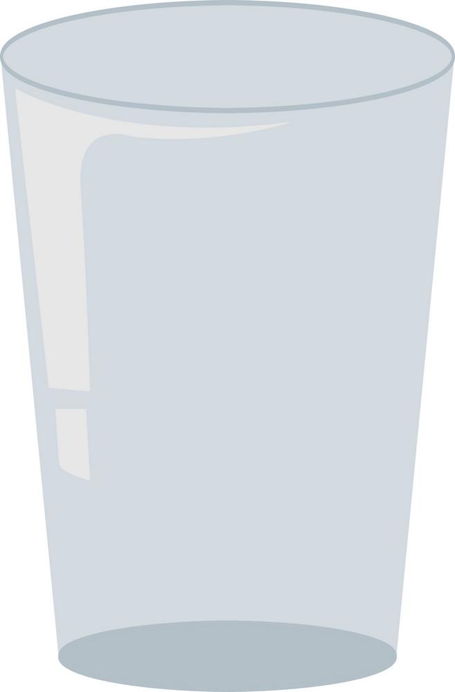 Glass Vector Element
