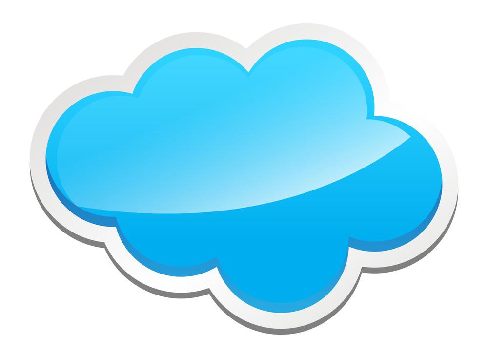Glassy Cloud Banner