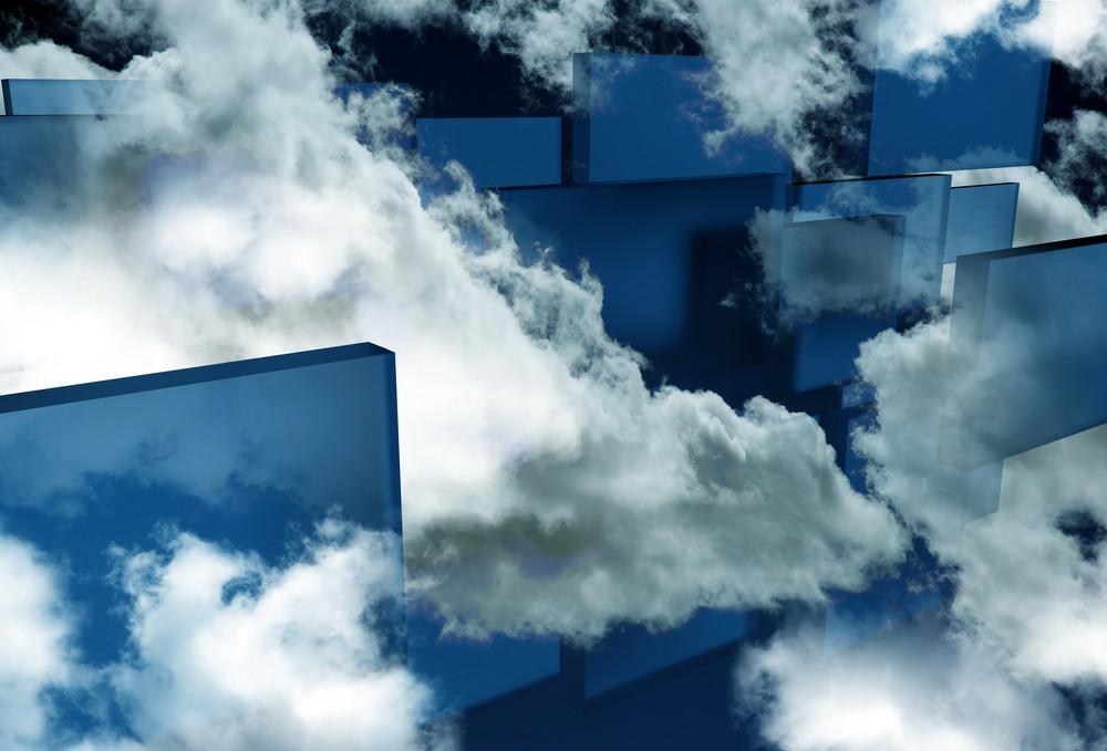Glassy Sky Blocks