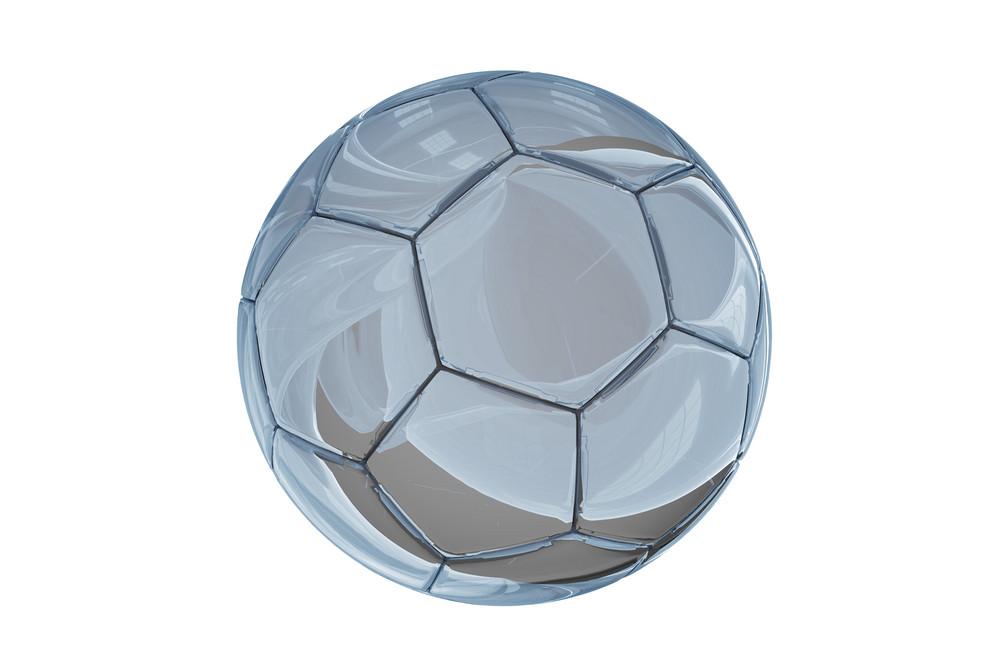 Glassy Soccer Ball