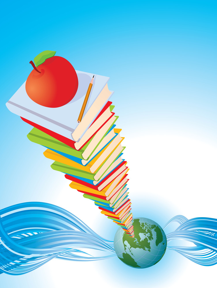 Global Education. Vector Background Royalty-Free Stock ...