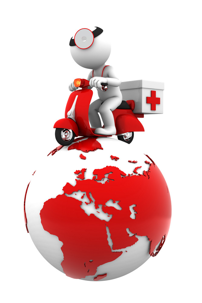 Global Emergency Service. Isolated