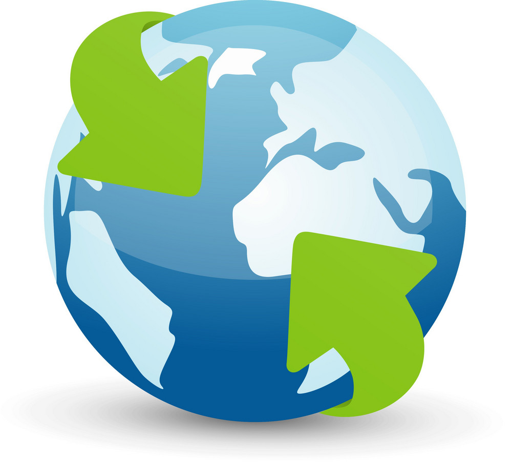 Global Green Arrow Lite Computer Icon