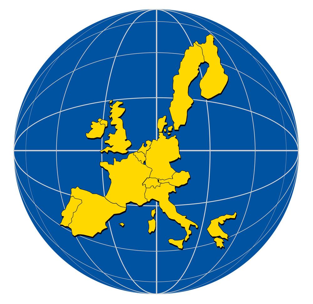 Globe europe map royalty free stock image storyblocks globe europe map gumiabroncs Choice Image