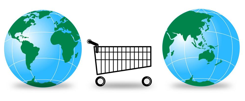Globes Shopping Cart