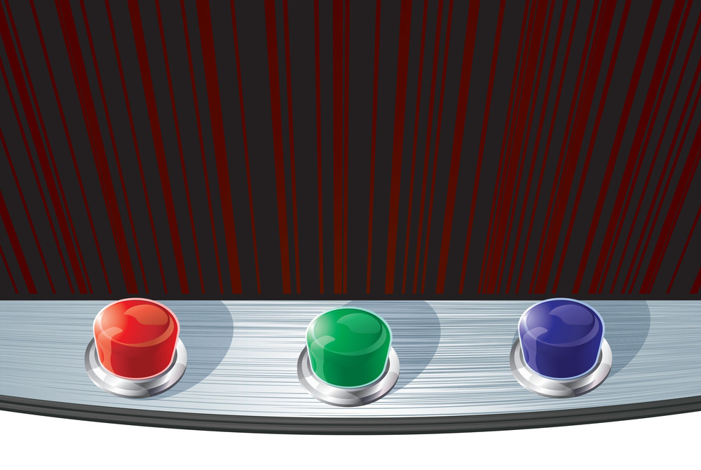 Glossy Buttons. Vector.