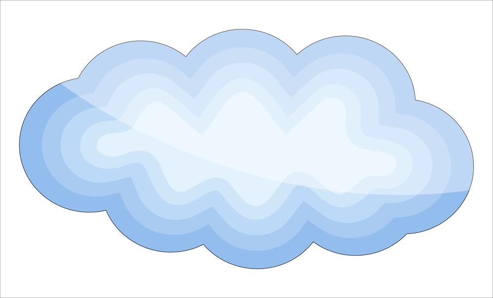 Glossy Cloud Design