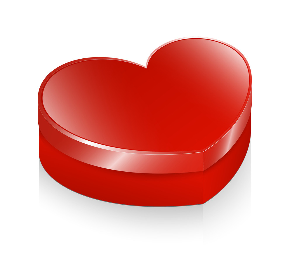 Glossy Heart Box