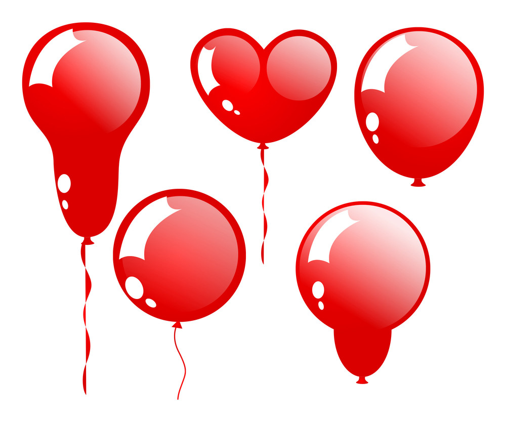Glossy Occasional Balloons Set