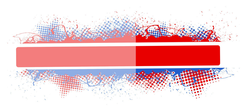 Glossy Vector Banner Background For Usa Theme Designs