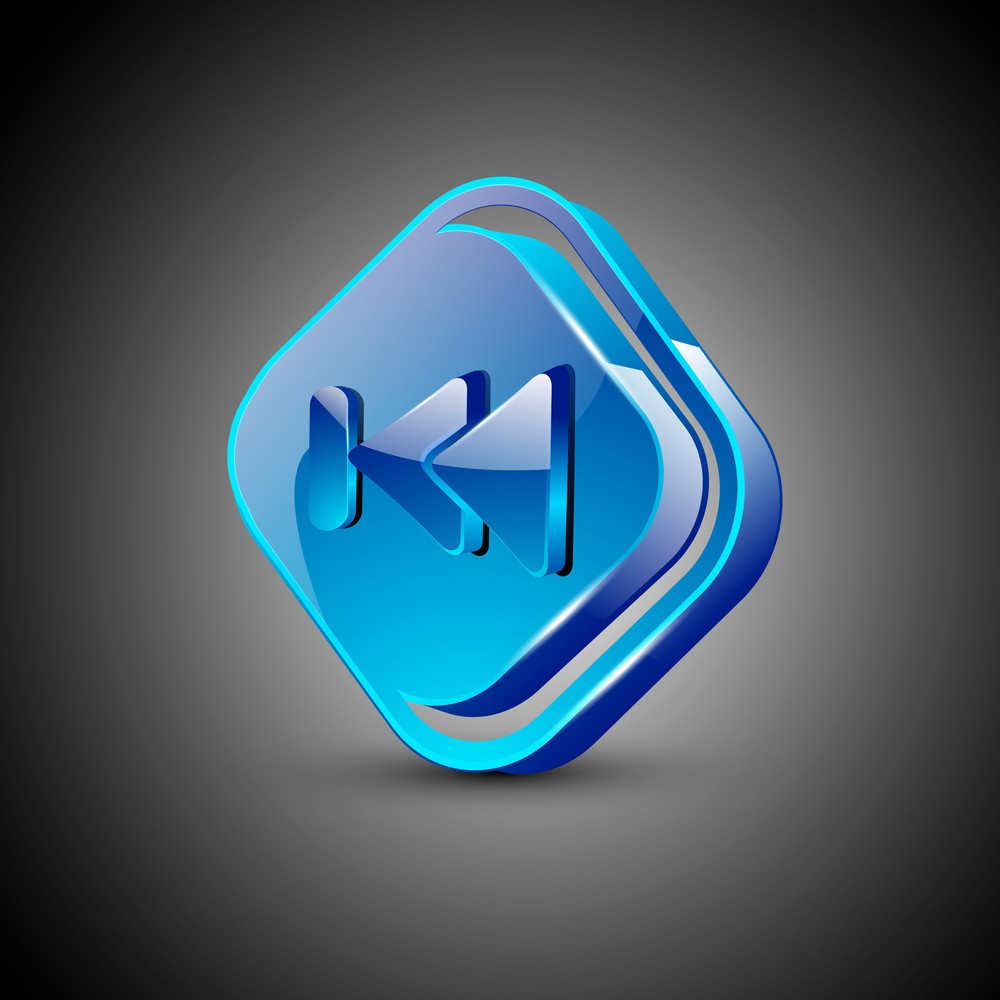 Glossy Web 2.0 Music Icon