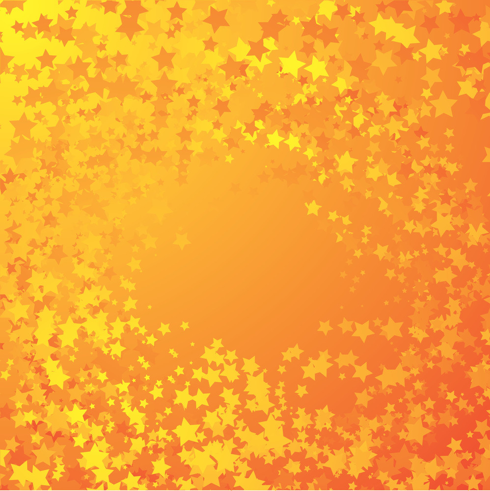 Glowing Star Vector Background.