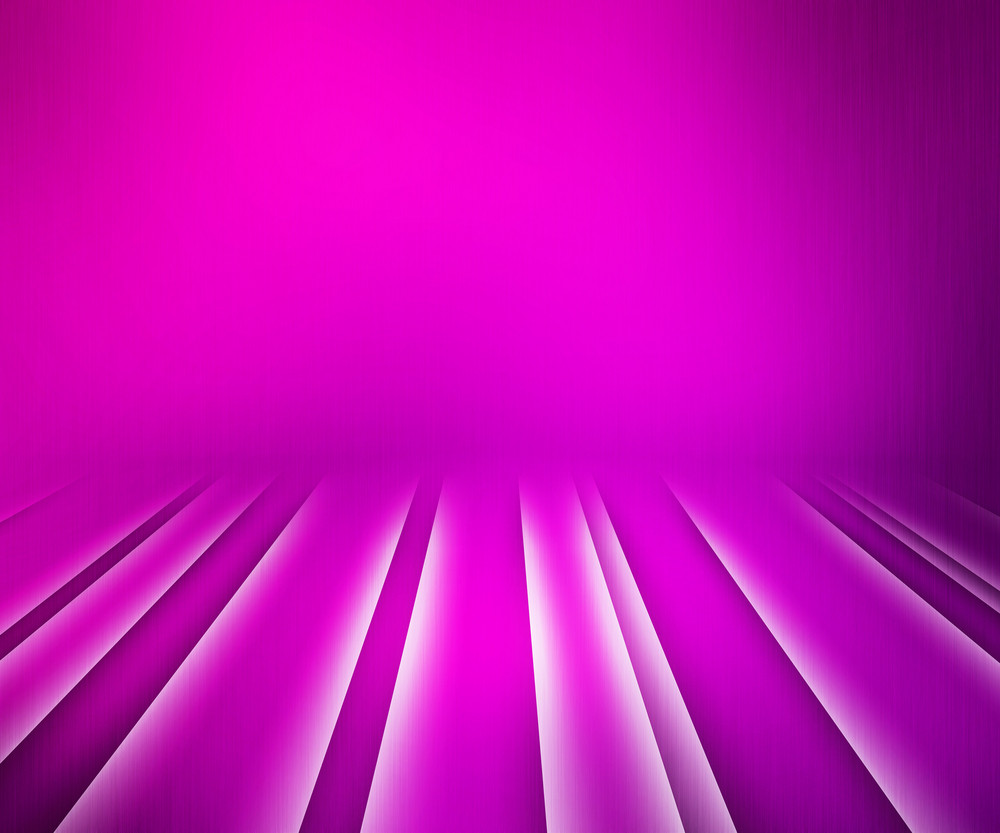 Glowing Stripes Pink Stage Background