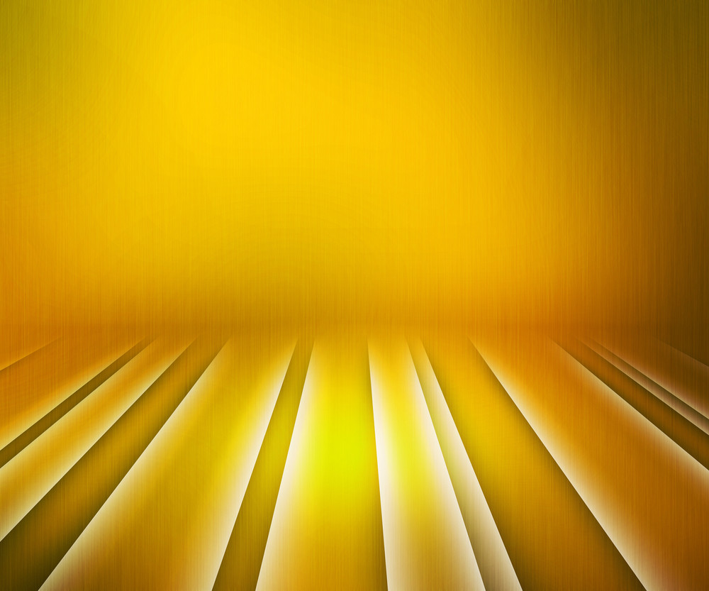 Glowing Stripes Yellow Stage Background