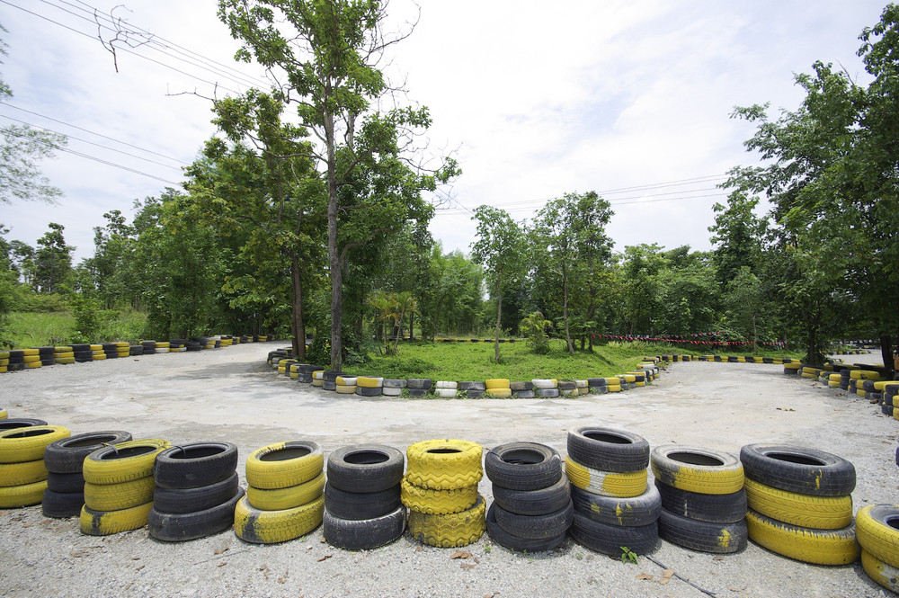 Go cart track in Thailand