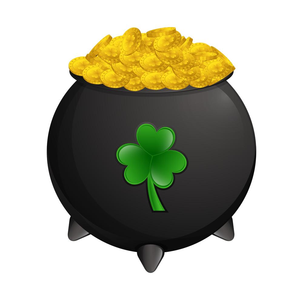 Gold Coins Cauldron