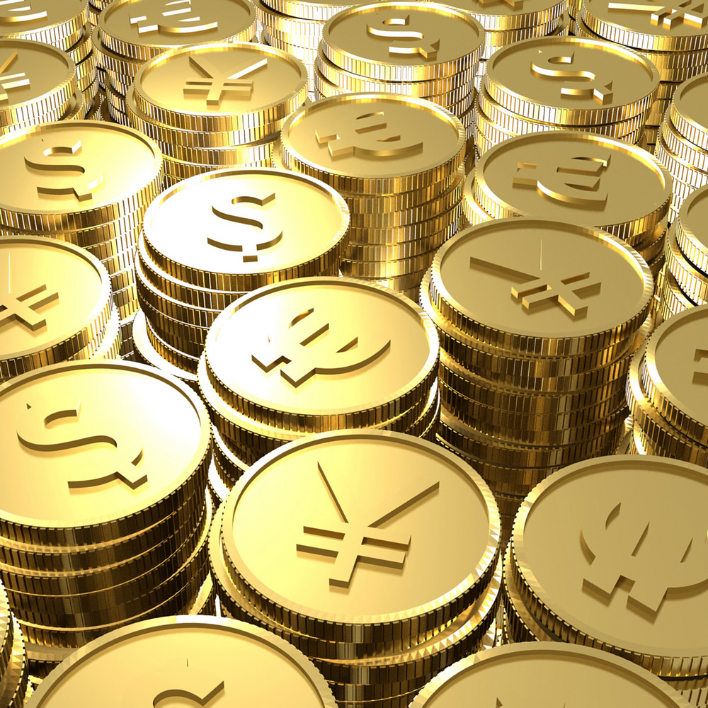 Gold Currency Coins