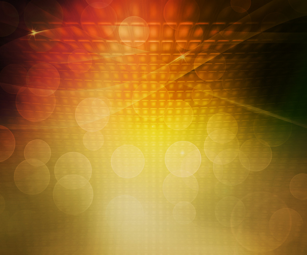 Gold Party Abstract Background