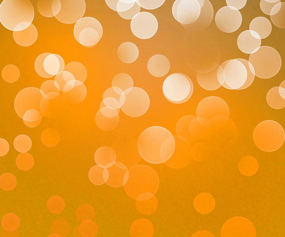 Gold Winter Bokeh Background