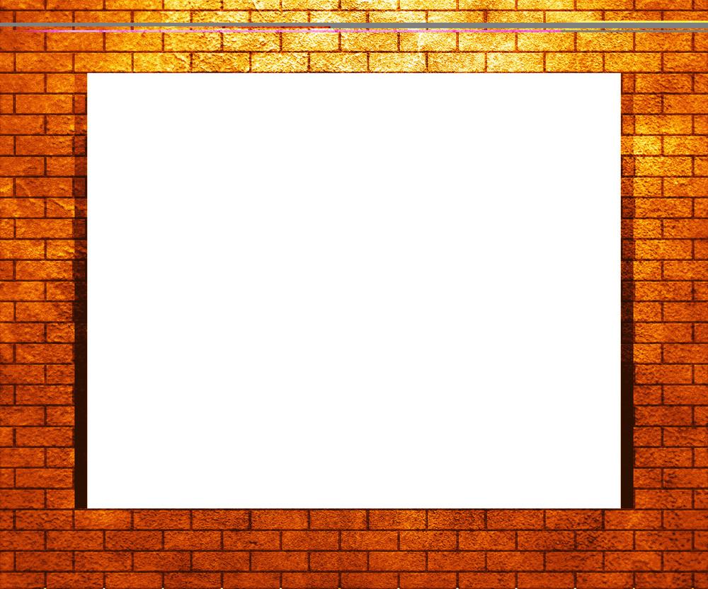 Golden Brick Frame