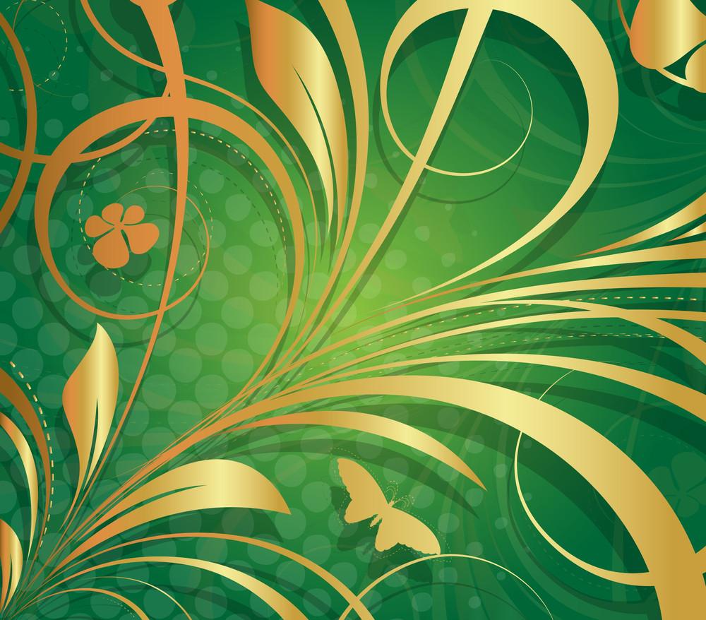 Golden Design Flora