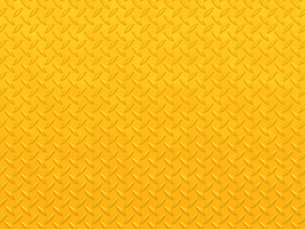 Golden Diamond Plate