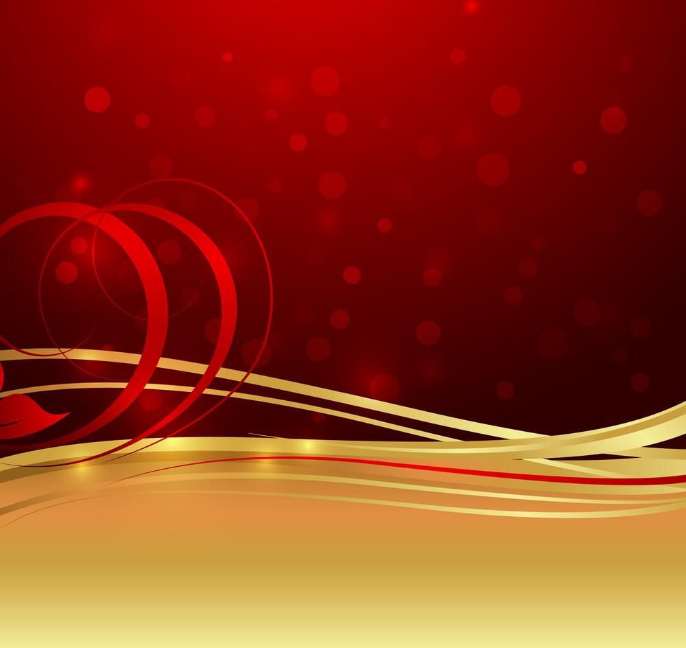 Golden Floral Sparkles Graphic Design