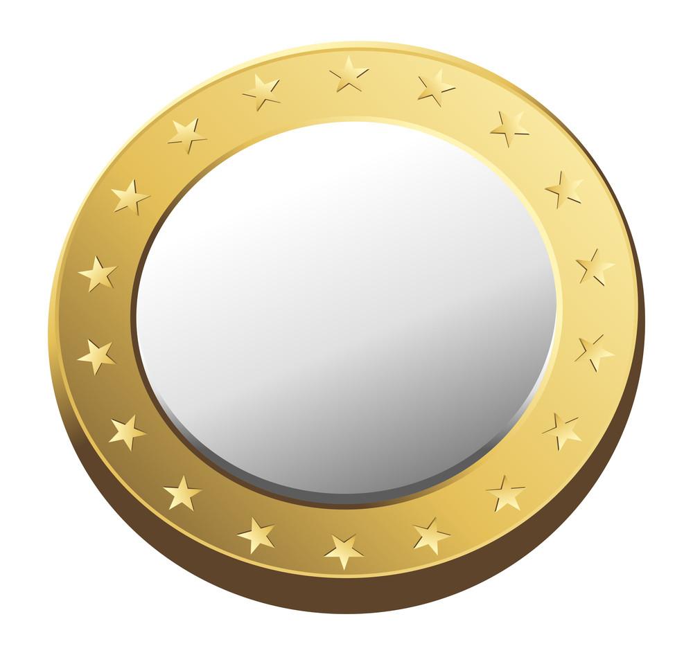 Golden Metallic Coin