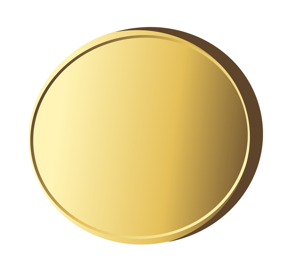 Golden Shiny Coin