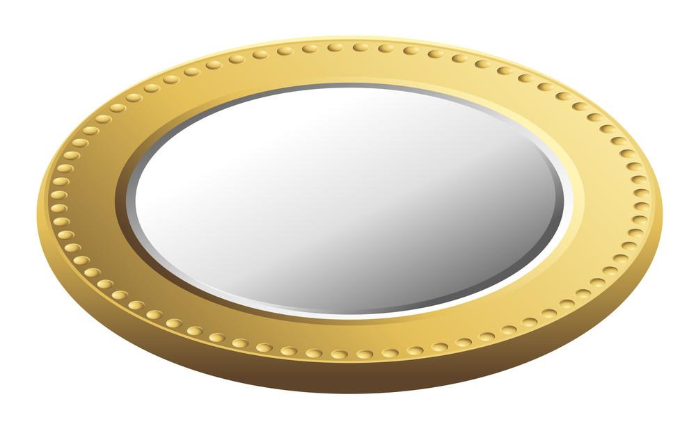 Golden Silver Coin