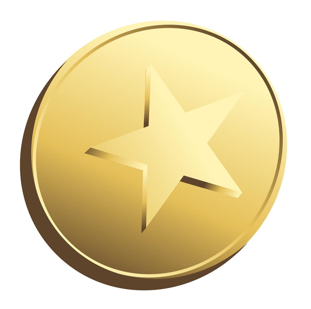 Golden Star Coin