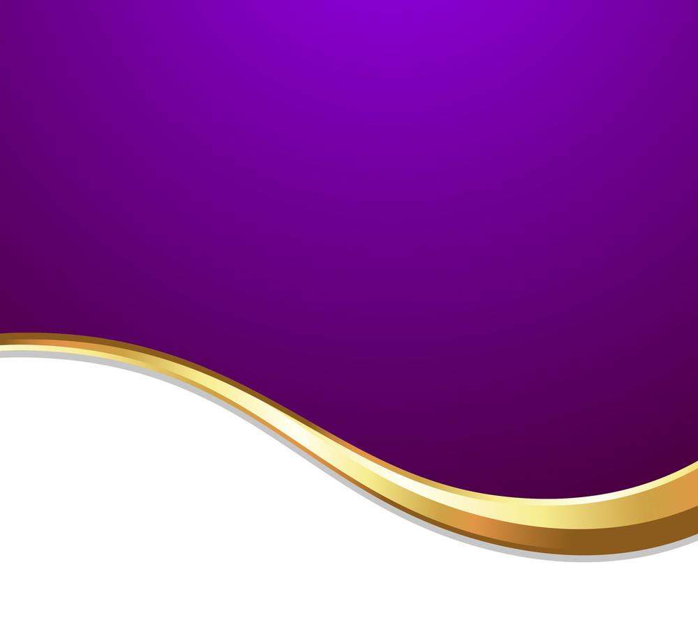 Golden Wave Festive Template Background
