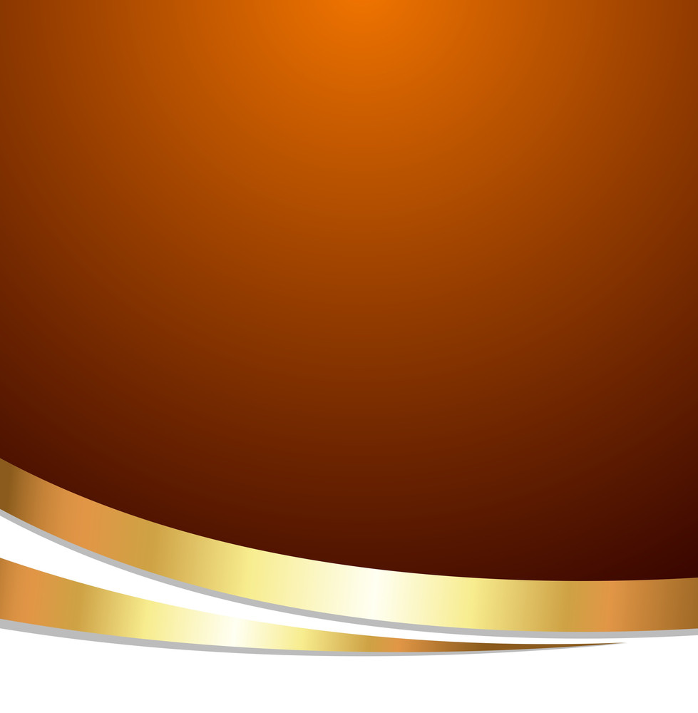 golden wave festive template background royalty free stock image