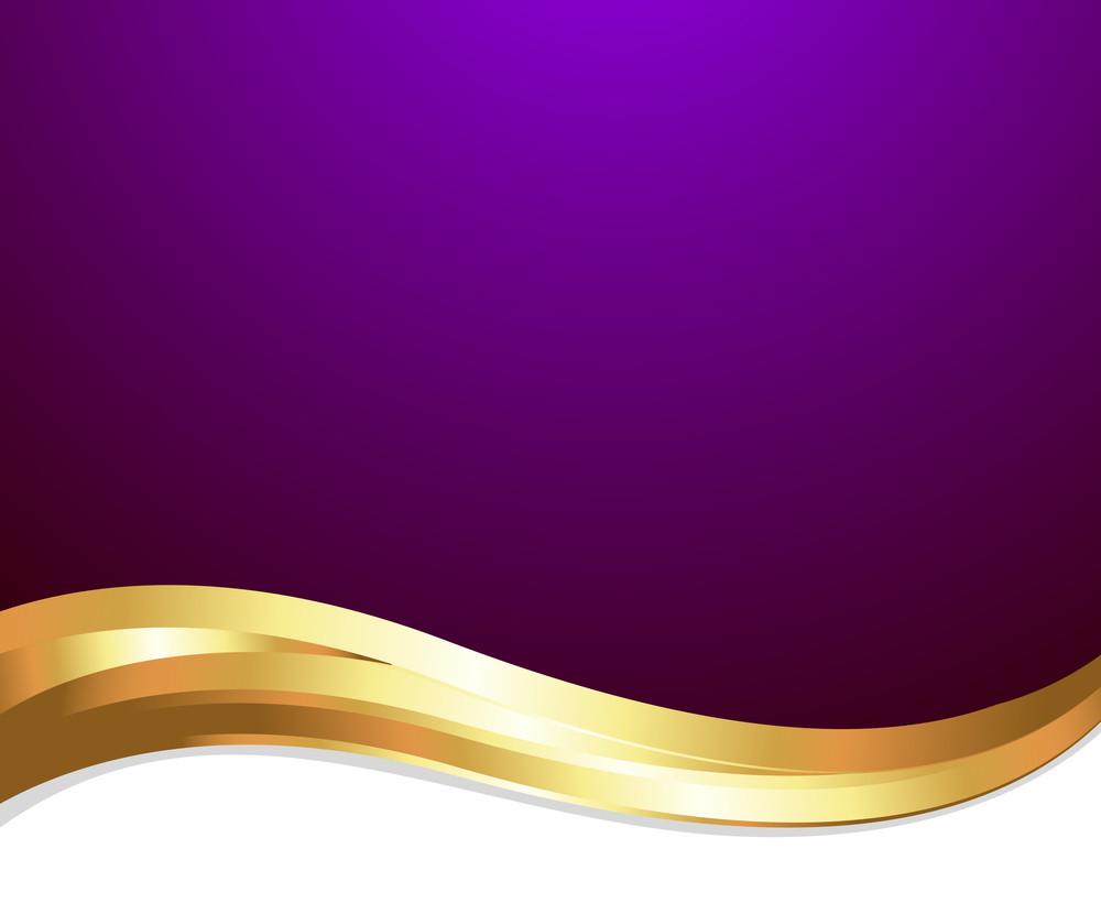 Golden Wave Festive Template