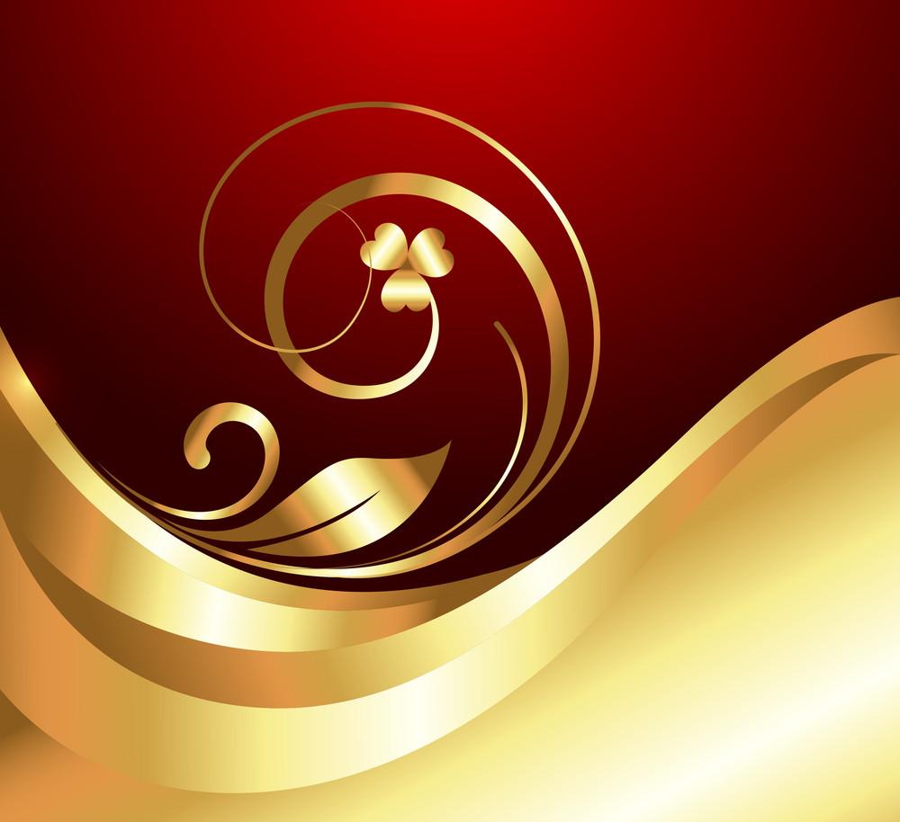 Golden Wave Flora Design