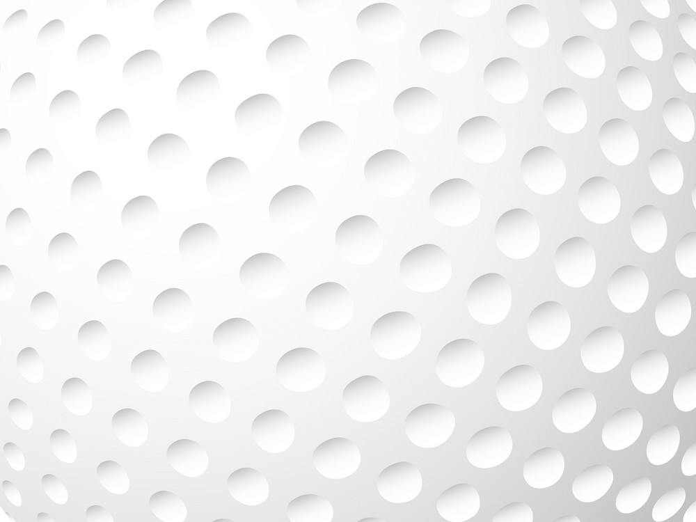 Golf Ball Close Up Background