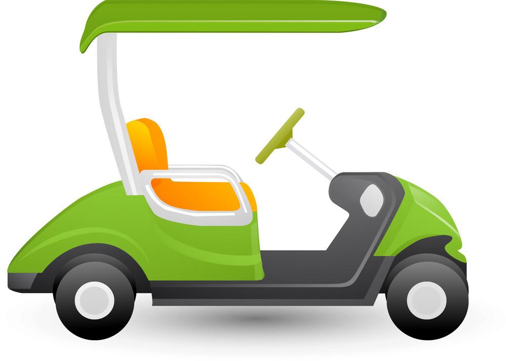 Golf Cart Lite Sports Icon