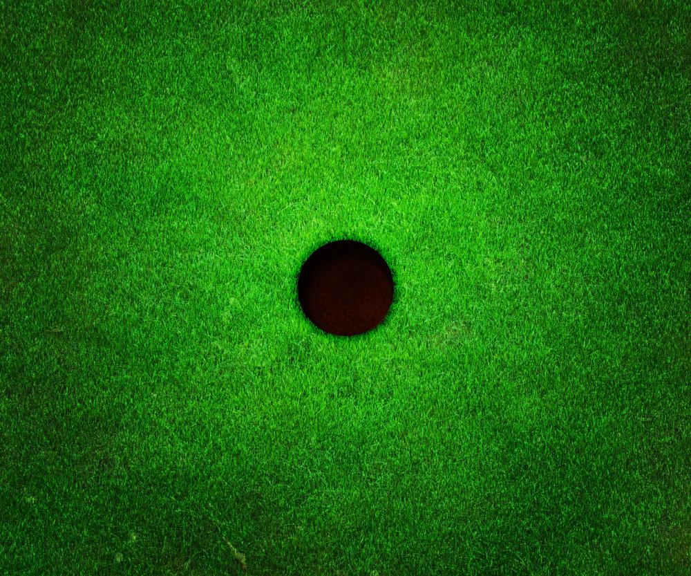 Golf Hole Background