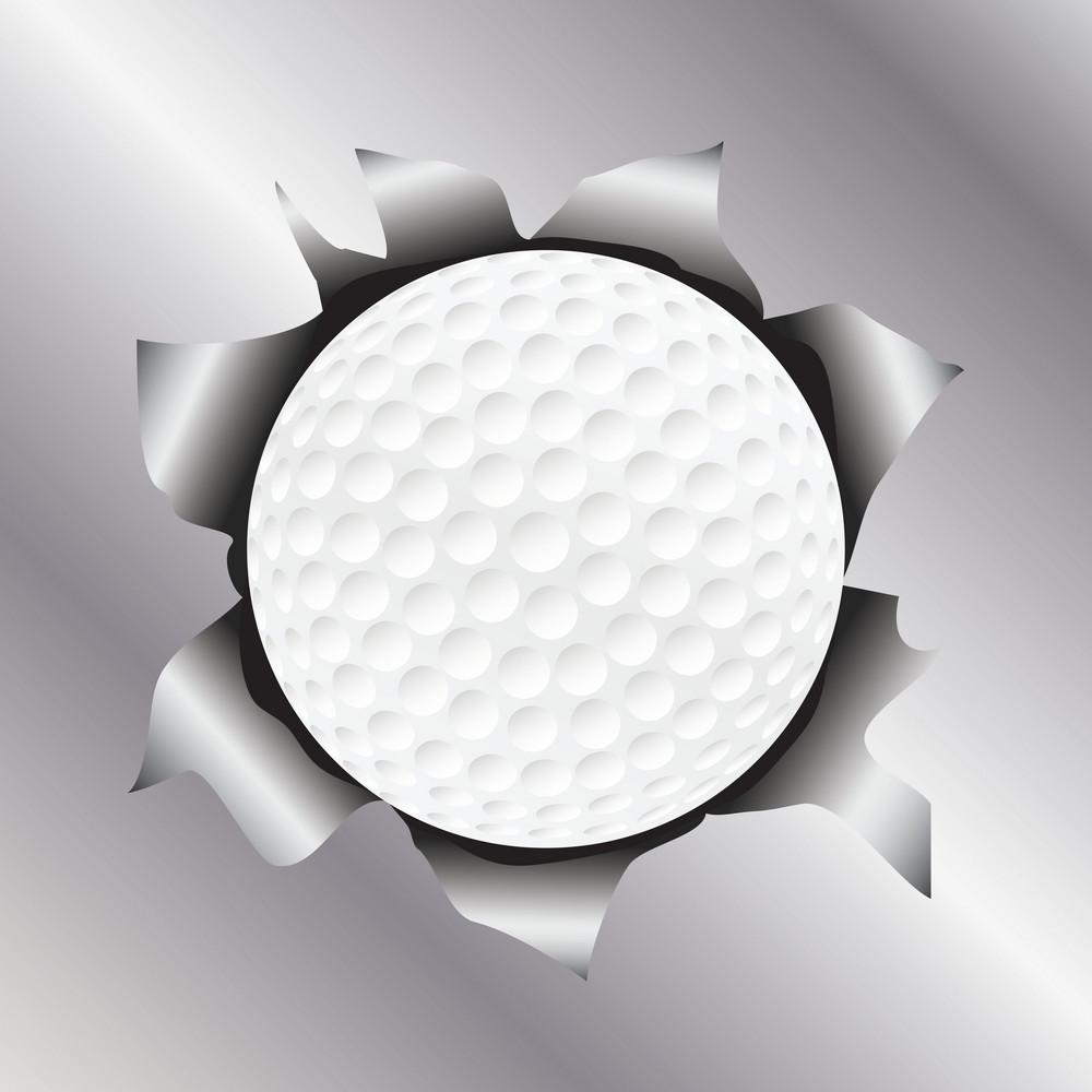 Golf Thru Metal Sheet