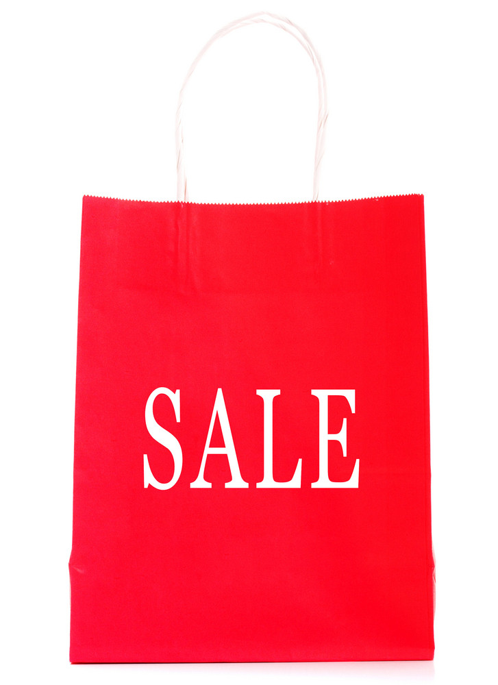 Goods On Sale Shopping Bag