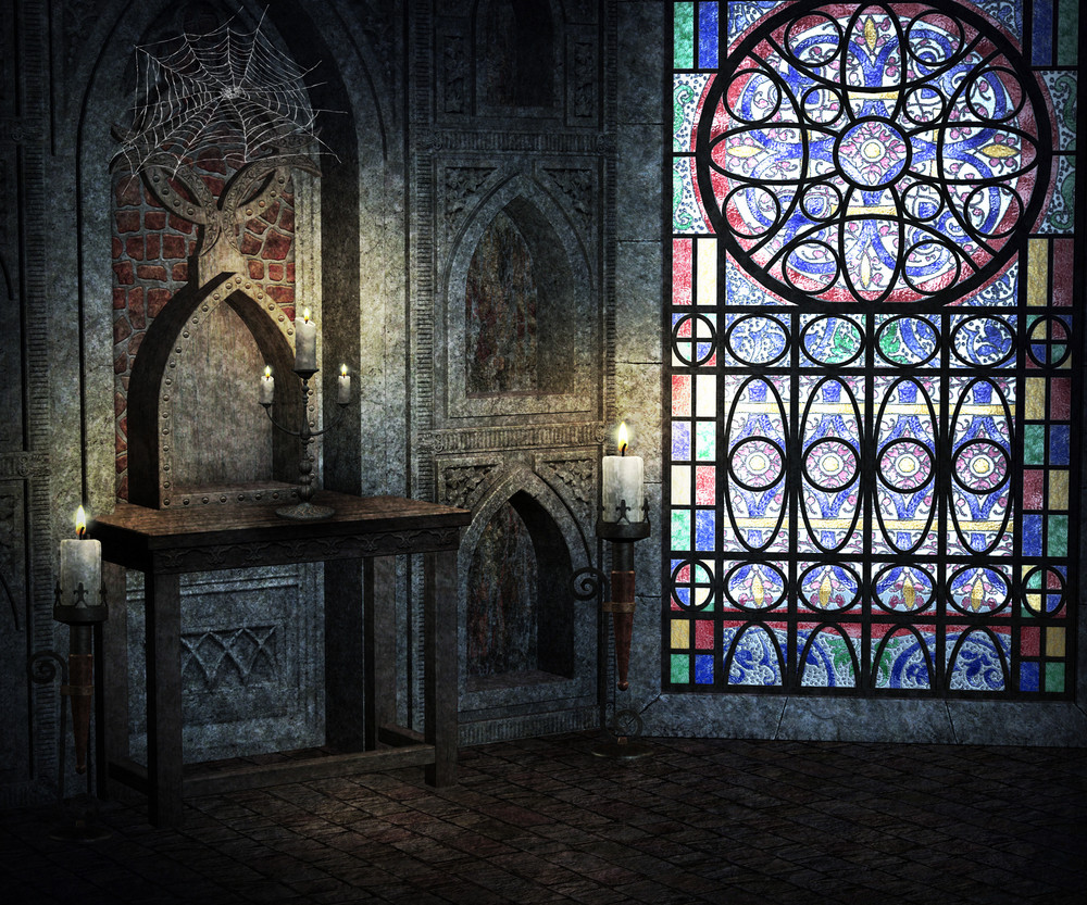 Gothic Room Background