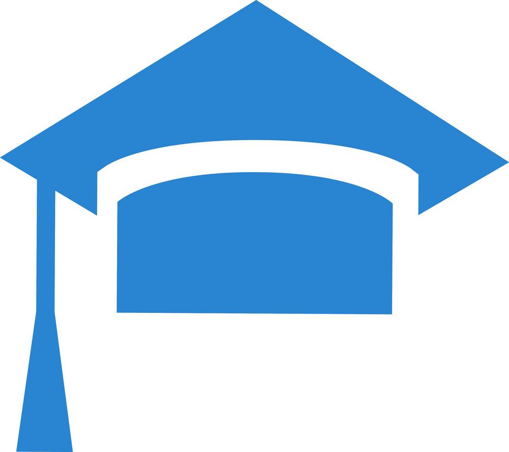 Graduation Cap Simplicity Icon