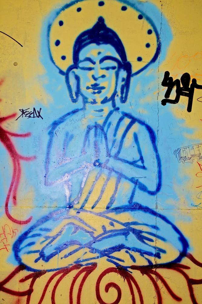 Graffiti Buddha